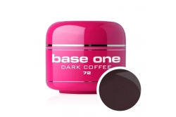 Silcare Base One - Żel kolorowy - ((Base One)) 72 Dark Coffe